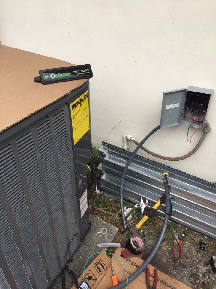 New AC Installation Miami